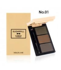 Hold live sugarpill eyebrow ทาคิ้วแต่งตาแบบฝุ่น No.601 ราคาส่งถูกๆ W.60 รหัส K222-1