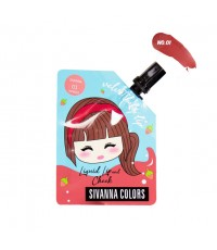 Sivanna Colors Velvet Baby Lip Liquid Lip and Cheek HF4032 No.01 ราคาส่งถูกๆ W.35 รหัส L978