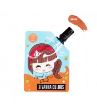 Sivanna Colors Velvet Baby Lip Liquid Lip and Cheek HF4032 No.02 ราคาส่งถูกๆ W.35 รหัส L979