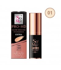 So Merris Say Growing Pro-HD Smooth Foundation Extra SPF 50 PA+++ No.01 ราคาส่งถูกๆ W.70 รหัส F220-1