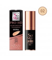 So Merris Say Growing Pro-HD Smooth Foundation Extra SPF 50 PA+++ No.02 ราคาส่งถูกๆ W.70 รหัส F220-2