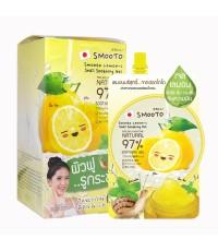 Smooto Lemon-C Snail Soothing Gel แบบซอง (ขายเป็นกล่อง) W.370 รหัส S154
