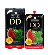 Aria Watermelon DD Cushion SPF50 PA++++ อารีอา ดีดี แตงโม (ขายยกกล่อง) W.110 รหัส S35-1