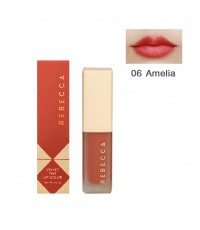 Rebecca velvet tint lip color รีเบคก้า เวลเวท ทินท์ ลิป คัลเลอร์ No.06 ราคาส่งถูกๆ W.35 รหัส L910-6