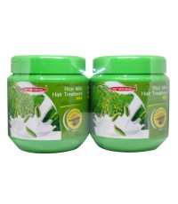 Carebeau Rice Milk Hair Treatment Wax 500 ml. ทรีทเม้นท์แพ็คคู่ 1 แถม 1 W. 1100 รหัส H170