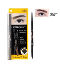 OD747 Odbo Shine Decorate Pen Eyebrow and Eyebrow No.02 Red Brown ราคาส่งถูกๆ W.40 รหัส K236-2