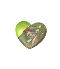 Kiss Beauty 24K Lip Flower ลิปมันเปลี่ยนสี Package รูปหัวใจ สีเขียว W.520 รหัส L930-4