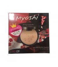 Myoshi ขาวออร่า ปกปิดเนียน กันน้ำ กันเหงื่อ ไม่เป็นคราบ No.03 w.85 รหัส MP623