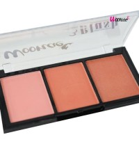 Woonae 3 colors blush บลัชออน No.4 W.80 รหัส.BO601