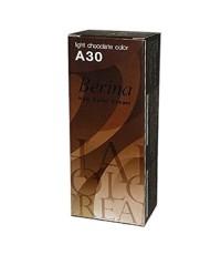 Berina - A30 สีช็อกโกแลตอ่อน Light Chocolate W.200 รหัส.H234