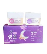 Aura Skin Day  Night Cream by Thida เซทครีม ออร่าสกิน W.120 รหัส TM1119