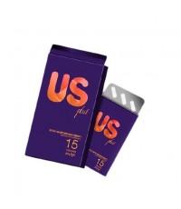 US PLUS ยูเอสพลัส ลดน้ำหนัก สูตรดื้อ ลดยาก W.70 รหัส I236