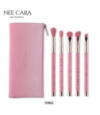 EM750 Nee Cara be Colorful ~ Star 5-Piece Brush Set เซตแปรง W.150 รหัส EM750