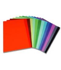 กระดาษโปสเตอร์สี สองหน้า หนา สีชมพู
