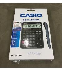 เครื่องคิดเลข CASIO  DJ-120D Plus 10 เครื่อง ส่งฟรี