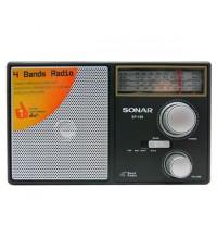 Sonar วิทยุทรานซิสเตอร์แนวใหม่ รุ่น SP-100 Black