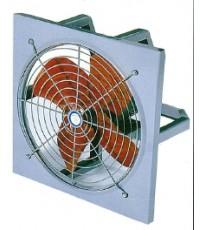 พัดลมอุตสาหกรรม 24 ยี่ห้อ FLOW หน้า-หลัง 1/2 hp 2 สาย