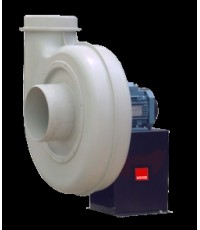 CAC Series - Single Inlet Centrifugal Fans - Anti-corrosive Polypropylene Direct Drive Centrifugal F