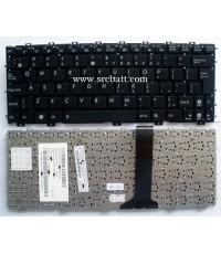 Keyboard Notebook Asus รุ่น Eee PC 1015 1015PN (AS-22) คีย์บอร์ดโน๊ตบุ๊ค แถมสติ๊กเกอร์