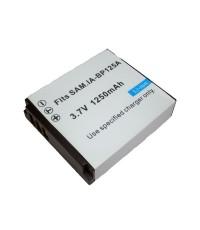 แบตเตอรี่ สำหรับกล้องดิจิตอล Samsung รหัสแบตเตอรี่ BP-125A ความจุ 1250mAh (Battery Camera)