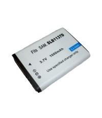 แบตเตอรี่ สำหรับกล้องดิจิตอล Samsung รหัสแบตเตอรี่ SLB-1137D ความจุ 1000mAh (Battery Camera)