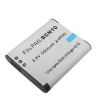 แบตเตอรี่ สำหรับกล้อง Panasonic รหัสแบตเตอรี่ BCN10 ความจุ 690mAh (Battery Camera)