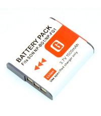 แบตเตอรี่ สำหรับกล้อง Sony รหัสแบตเตอรี่ NP-BG1+ ความจุ 1500mAh (Battery Camera)