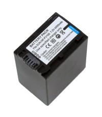 แบตเตอรี่ สำหรับกล้อง Sony รหัสแบตเตอรี่ NP-FV100+ ความจุ 4200mAh (Battery Camera)