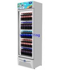 ตู้แช่เย็น กระจก 1 ประตู ยี่ห้อ Sanden Intercool รุ่น SPA-0403D41A (13.4 คิว/378 ลิตร)