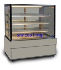 ตู้แช่เค้ก แบบกระจกเหลี่ยม ยี่ห้อ Sanden Intercool รุ่น SKS-1507Z