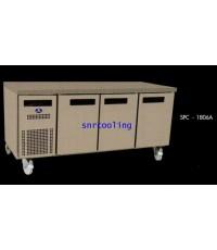ตู้สแตนเลสใต้เคาน์เตอร์ เกรด 201 ยี่ห้อ SANDEN INTERCOOL รุ่น SPC-1806A (แช่เย็น)