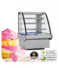 ตู้แช่เค้กแบบกระจกโค้ง ยี่ห้อ Fresher รุ่น FR-1500CQ (810 ลิตร /28.6 คิว)