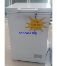ตู้แช่แข็ง ฝาทึบโช๊คอัพ Sanden Intercool รุ่น SNH0105 (3.5 คิว)