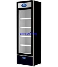 ตู้แช่เย็นกระจก 1 ประตู ยี่ห้อ Sanden Intercool รุ่น SPA-0403 (สีดำ) (13.4 คิว)