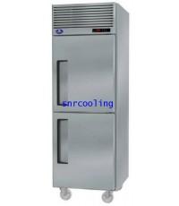 ตู้แช่สแตนเลส ฝาทึบ 2 ประตู (แช่เย็น) SANDEN INTERCOOL รุ่น SRR2-0687AS(610 ลิตร) 21.6 คิว