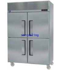 ตู้แช่สแตนเลส ฝาทึบ 4 ประตู (แช่แข็ง) SANDEN INTERCOOL รุ่น SRF2-1327AS(1,310 ลิตร) 46.3 คิว