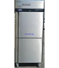 ตู้แช่สแตนเลส ฝาทึบ 2 ประตู (เกรด 304) ยี่ห้อ Sanden Intercool รุ่น SRR3-0687AS (610 ลิตร) แช่เย็น