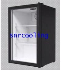 ตู้แช่เย็น กระจก 1 ประตู Sanden Intercool รุ่น SPE-0105 (3.5 คิว) สีดำ