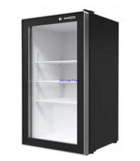 ตู้แช่เย็น กระจก 1 ประตู Sanden Intercool รุ่น SPE-0105 Frameless (3.5 คิว) สีดำ