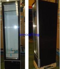 ตู้แช่เย็นกระจก 1 ประตู ยี่ห้อ Sanden Intercool รุ่น SPB-0365FL (12.3 คิว) สีดำ Slim