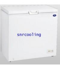 ตู้แช่แข็งฝาทีบ โช๊คอัพ ยี่ห้อ Sanden Intercool รุ่น SCF-0215 (7.1 คิว)