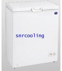 ตู้แช่แข็งฝาทีบ โช๊คอัพ ยี่ห้อ Sanden Intercool รุ่น SCF-0115 (3.5 คิว)