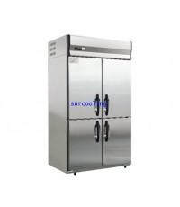 ตู้แช่สแตนเลส ฝาทึบ 4 ประตู ยี่ห้อ Panasonic รุ่น SRF-1281HP(E) (1,080ลิตร) แช่แข็ง