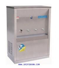 ตู้ทำน้ำเย็น-น้ำร้อน แบบ ต่อท่อประปา MAXCOOL แม็คคูล รุ่น MCH-4P (H1C3) (แบบแผงรังผึ้ง) EAOUX