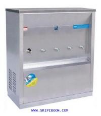 ตู้ทำน้ำเย็น-น้ำร้อน แบบ ต่อท่อประปา MAXCOOL แม็คคูล รุ่น MCH-5P (H1C4) เย็น 4 ก๊อก ร้อน 1 ก๊อกE6UXX