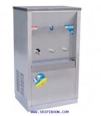 ตู้ทำน้ำเย็น -น้ำร้อน ต่อท่อประปา MAXCOOL แม็คคูล MCH-3PW น้ำเย็น 2 ก๊อก น้ำร้อน 1(แผงความร้อน)A89XX