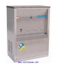 ตู้ทำน้ำเย็น -น้ำร้อน ต่อท่อประปา MAXCOOL แม็คคูล รุ่น MCH-4PW  (แบบแผงความร้อน) EX9XX