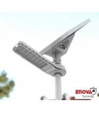 โคมไฟโซล่าเซล พลังแสงอาทิตย์ ENOVA อีโนว่า รุ่น ST- 2 (5V- 80W) ระยะความสูง 6 เมตร