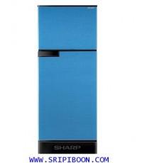 ตู้เย็น ชาร์ป SHARP  2 ประตู SJ-C19E-BLU ขนาด 5.9 คิว บริการส่งถึงบ้าน!.