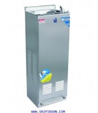 ตู้ทำน้ำเย็น ต่อท่อน้ำ MAXCOOL แม็คคูล MC-6FN แบบน้ำพุ มือกด,เท้าเหยียบ ไม่มีงวง AI8XX